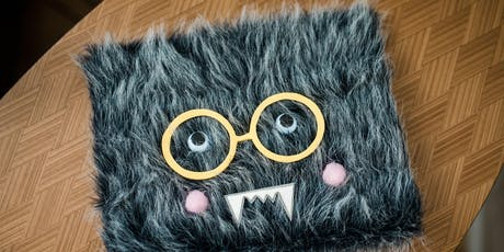 Kids' Make It Club:  Furry Monster Notebook tickets