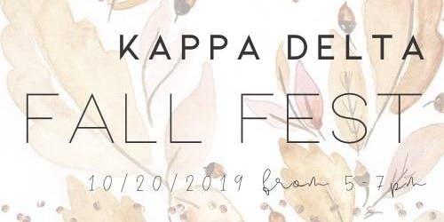 Kappa Delta Fall Fest 2019