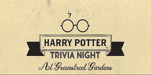 Harry Potter Trivia Night at Greenstreet!