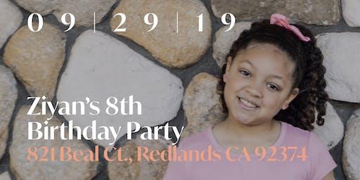 Ziyan's 8th Birthday Party