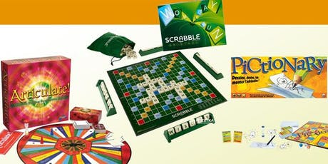 Come and have fun playing board games whilst listening to old-school music tickets