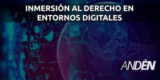 Workshop en inmersión al derecho en entornos digitales
