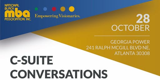 NBMBAA Atlanta October Forum: C-Suite Conversations