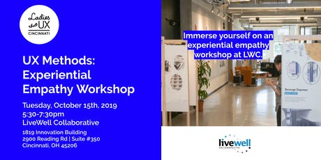 UX Methods: Experiential Empathy Workshop tickets