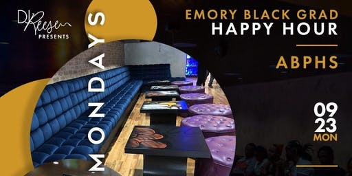 ABPHS Presents: Emory Black Grad Happy Hour