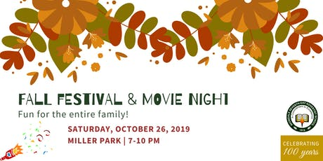 Fall Festival /Movie Night - Avondale 100th Celebration tickets