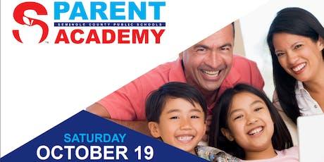 Seminole County Public Schools District Parent Academy  Fall 2019 tickets