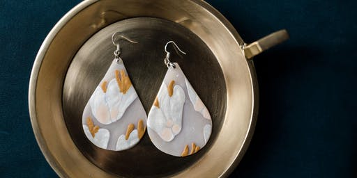 Polymer Clay Earring Design with Catie Miller Ceramics