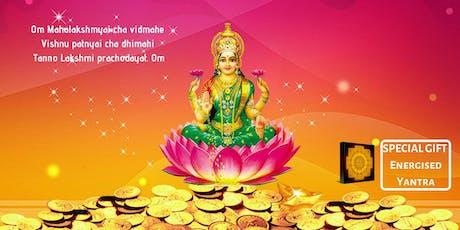 Maha Lakshmi Pujan - To Materialise Abundance & Prosperity tickets