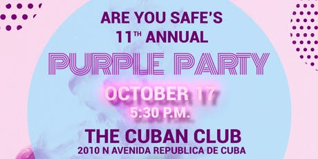 Are You Safe's 11th Annual Purple Party tickets