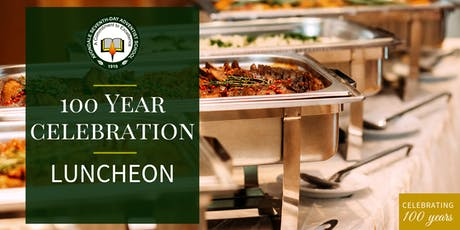 100 Year Celebration Luncheon  - Avondale 100th Celebration tickets