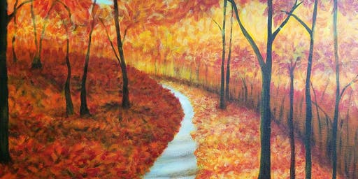 Paint Party - Beautiful Fall Day