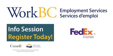 Delta WorkBC - FedEx Webinar tickets