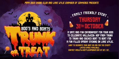 Boo's and Boats, Trunk or Treat at Papa Doc's Shore Club