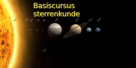 Basiscursus Sterrenkunde - najaar 2019 tickets