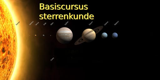 Basiscursus Sterrenkunde - najaar 2019