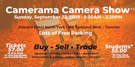CAMERAMA CAMERA SHOW tickets