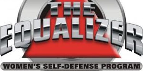 BRPD Women's Equalizer Self-Defense Class - October 8, 10, 15, & 17, 2019 tickets