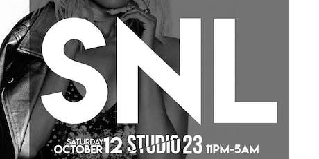 Saturday 10/12: SNL - Hip-Hop Vs. Reggae tickets