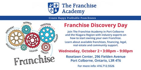 Franchise Discovery Day tickets