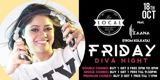 Friday Diva Night - DJ Maana