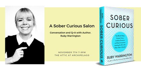 A Sober Curious Salon with Ruby Warrington tickets
