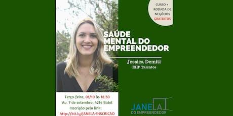 Curso: Saúde Mental do Empreendedor ingressos