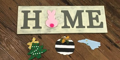 Home Sign with Attachables