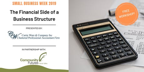 The Financial Side of a Business Structure tickets