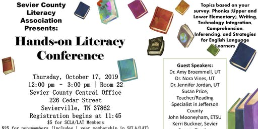 Sevier County Literacy Hands On Conference