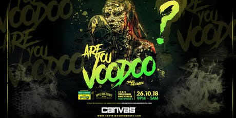 Canvas Halloween 2019: Are You Voodoo? tickets