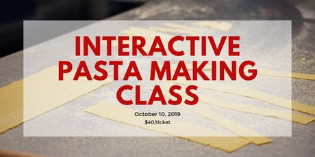 Interactive Pasta Making Class tickets
