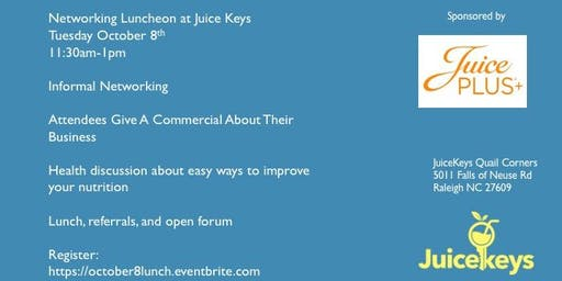 Raleigh October 8th Networking Lunch