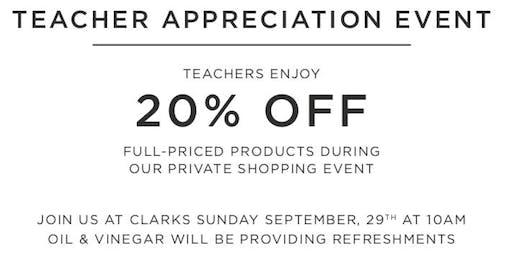 Clarks Summerlin Teacher Appreciation Event