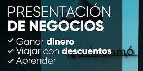 Presentación de Negocios Buenos Aires entradas