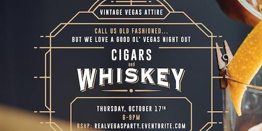 Cigars & Whiskey Vintage Vegas Night Out