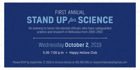 First Annual Stand Up For Science tickets