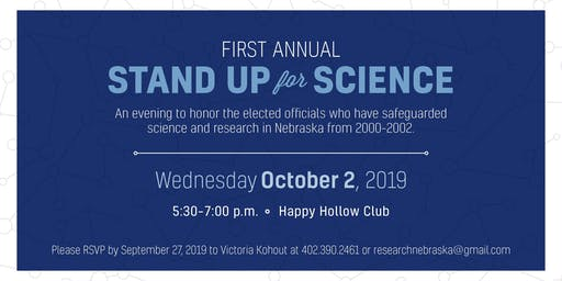 First Annual Stand Up For Science