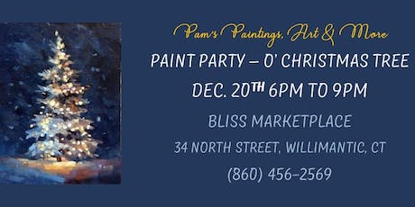 Paint Party - O' Christmas Tree tickets