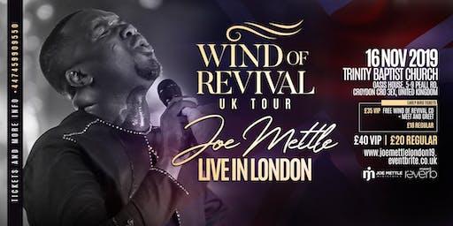 Joe Mettle 'Wind of Revival' London Concert 2019