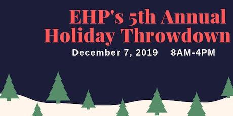 5th Annual Holiday Throwdown tickets