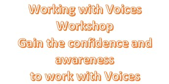 Working With Voices, Visions & other Coping Mechanisms