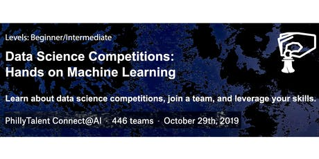 Data Competitions: Hands On Machine Learning October Cohort tickets