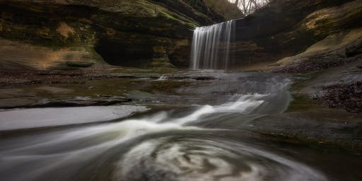 Starved Rock Fall color/waterfall workshop w