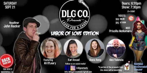 Laugh For A Cause: Labor of Love Edition