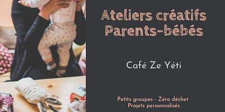 Atelier créatif parents-bébés - Ze Yeti billets