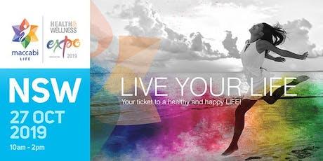 NSW - Maccabi LIFE Health & Wellness Expo - 2019 tickets