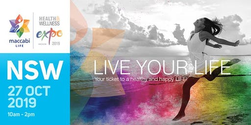 NSW - Maccabi LIFE Health & Wellness Expo - 2019