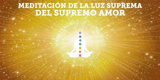 Meditacion de Luz suprema Barcelona! @meditandoporelmundo