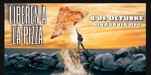 PIZZA LIBRE VEGANA Y SIN GLUTEN